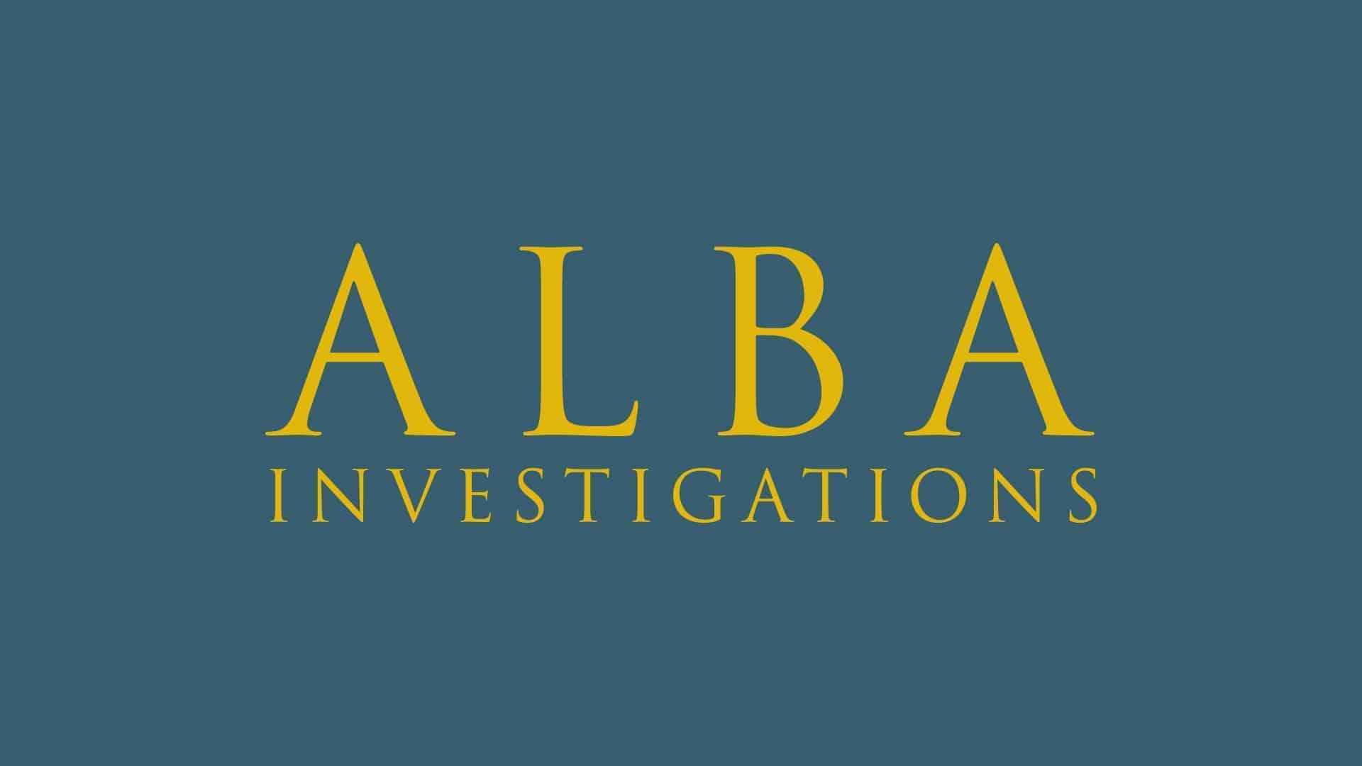 alba investigations logo